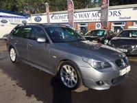 2005 BMW 5 SERIES 2.5 525D M SPORT 5d 175 BHP £6495.00