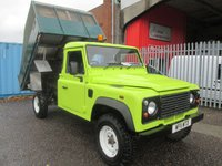 2011 LAND ROVER DEFENDER 130  TIPPER *ALLOY SIDES*ONLY 63000 MILES* £15995.00