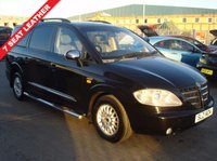 USED 2006 SSANGYONG RODIUS 2.7 270 SX 5d AUTO 163 BHP 7 SEATER FULL LEATHER  MOT INCLUDED AUTOMATIC