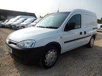 2007 VAUXHALL COMBO VAN  2000 1.3 CDTI VAN EX BT 70051 MILES  £2795.00