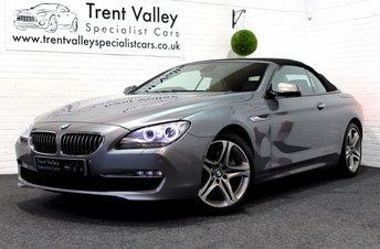 2011 BMW 6 SERIES 3.0 640I SE 2d AUTO 316 BHP £24955.00
