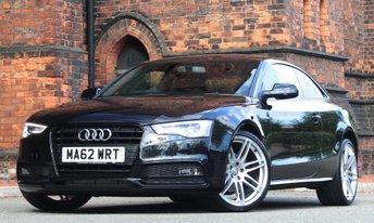 2012 AUDI A5 2.0 TDI Black Edition 2dr £16975.00