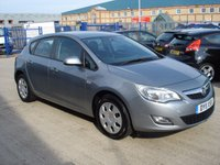 2011 VAUXHALL ASTRA 1.4 EXCLUSIV 5d 98 BHP £4495.00