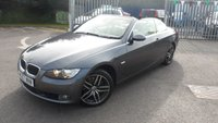 2007 BMW 3 SERIES CONVERTIBLE 2.0 320I SE 2d 168 BHP £6795.00
