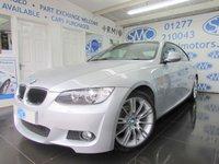 2010 BMW 3 SERIES 2.0 320I M SPORT 2d 168 BHP £11495.00