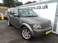 2010 LAND ROVER DISCOVERY 3.0 4 SDV6 GS 5d AUTO 245 BHP £20995.00