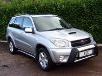 2005 TOYOTA RAV4 2.0 XT-R D-4D 5d 114 BHP £3975.00