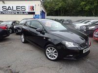 USED 2015 15 SEAT IBIZA 1.4 TOCA 3d 85 BHP NATIONALLY PRICE CHECKED DAILY