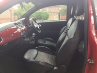 USED 2012 62 FIAT 500 1.2 STREET 3d 69 BHP 1 OWNER FROM NEW, Pasodoble Red, Alloy Wheels