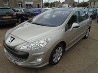 2009 PEUGEOT 308 1.6 SW XT HDI 5d 108 BHP £5500.00