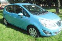 USED 2010 60 VAUXHALL MERIVA 1.4 S 5d 98 BHP
