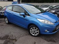 USED 2009 59 FORD FIESTA 1.4 ZETEC 16V 3d 96 BHP NATIONALLY PRICE CHECKED DAILY