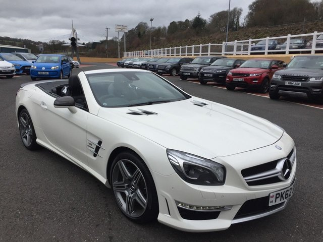 2012 62 MERCEDES-BENZ SL SL63 AMG 5.5 Bi-Turbo 537bhp