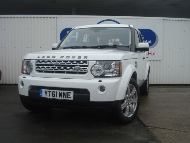 2012 61 LAND ROVER DISCOVERY 3.0 4 SDV6 GS 5d AUTO 255 BHP