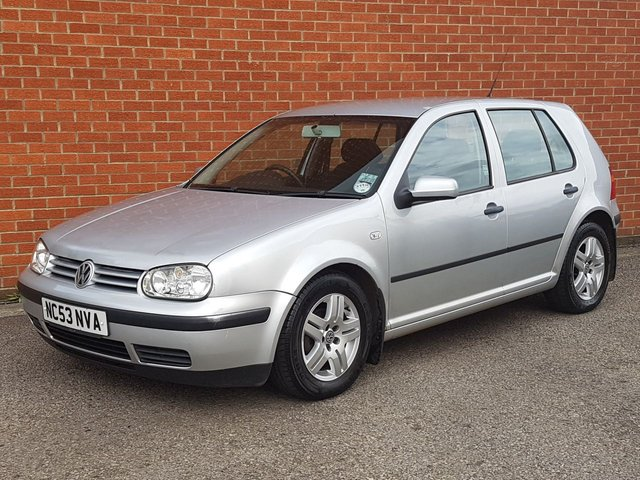 2003 53 VOLKSWAGEN GOLF 1.6 MATCH 5d AIR CON  ALLOYS