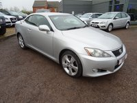 USED 2009 59 LEXUS IS 2.5 250C SE-I 2d AUTO 204 BHP LOW COST FINANCE OPTIONS
