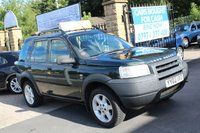 2002 LAND ROVER FREELANDER 1.8 GS STATION WAGON 5d 116 BHP £990.00