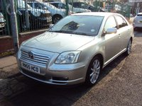 2006 TOYOTA AVENSIS 2.0 T SPIRIT D-4D 5d 114BHP+LEATHER AND SATNAV+ £2490.00