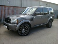 2009 LAND ROVER DISCOVERY 4 3.0 TDV6 GS AUTO 245 BHP £19995.00