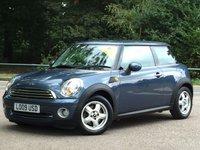 2009 MINI HATCH ONE 1.4 ONE 3d 94 BHP £6495.00