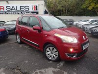 USED 2010 60 CITROEN C3 PICASSO 1.6 PICASSO EXCLUSIVE HDI 5d 90 BHP NATIONALLY PRICE CHECKED DAILY