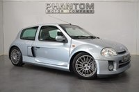USED 2002 V RENAULT CLIO 2.9 RENAULTSPORT V6 3d 227 BHP APPRECIATING CLASSIC + LOOK!