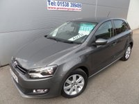 2013 VOLKSWAGEN POLO 1.4 MATCH DSG 5d AUTO 83 BHP ONLY 17900 MILES AIR CON £8995.00