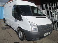 2012 FORD TRANSIT 280 MWB Medium roof 125PS *ONE OWNER*6 SPEED* £7995.00