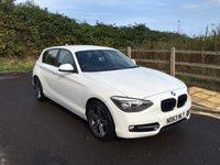 2013 BMW 1 SERIES 2.0 118D SPORT 5d 141 BHP £13490.00
