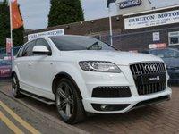 2012 AUDI Q7 3.0 TDI QUATTRO S LINE PLUS 5d AUTO 245 BHP £26995.00