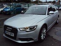 2012 AUDI A6 AVANT 2.0 TDI SE 5d AUTO 175BHP £11490.00