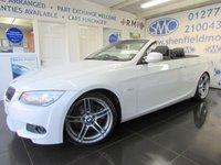 2013 BMW 3 SERIES 3.0 330D M SPORT 2d AUTO 242 BHP £20995.00