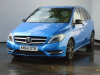 2014 MERCEDES-BENZ B CLASS 1.8 B200 CDI BLUEEFFICIENCY SPORT 5d AUTO 136 BHP £17499.00