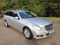 2011 MERCEDES-BENZ E CLASS 2.1 E220 CDI BLUEEFFICIENCY SE 5d 170 BHP £11850.00