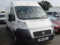 2014 FIAT DUCATO 2.3 35 H/R MULTIJET 1d 129 BHP LONG WHEELBASE HIGH ROOF ONLY 40,000 MILES £9495.00