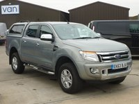 2013 FORD RANGER 2.2TDCi LIMITED 4X4 Double Cab 150 BHP  £14995.00