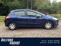 2008 PEUGEOT 308 1.4 S 5d 94 BHP £3475.00