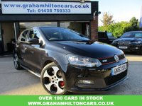 USED 2013 63 VOLKSWAGEN POLO 1.4 GTI DSG 5d AUTO 177 BHP ONE PRIVATE OWNER, OPENING PANORAMIC ROOF, SAT NAV, AUTOMATIC, ALLOYS, AIR CON, FULL MAIN DEALER SERVICE HISTORY, PARKING SENSORS