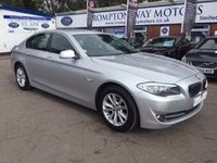 2011 BMW 5 SERIES 2.0 520D SE 4d 181 BHP £12995.00