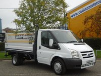 2008 FORD TRANSIT 100 T350m Dropside / Pickup+T/Lift [ Low Mileage 26k ] Crane / Swing Lift Free UK Delivery £10950.00