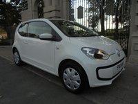 2013 VOLKSWAGEN UP 1.0 MOVE UP 3d AUTO 59 BHP £6495.00