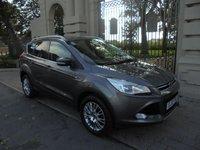 2013 FORD KUGA 2.0 TITANIUM TDCI 5d 160 BHP 4X4 £13495.00