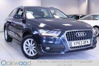 2013 AUDI Q3 2.0 TDI 140 BHP SE 5d £13485.00