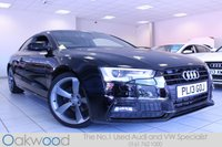2013 AUDI A5 1.8 TFSI 170 BHP S LINE BLACK EDITION 2d £16985.00