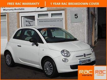 2010 FIAT 500 1.2 POP 3d 69 BHP £4699.00
