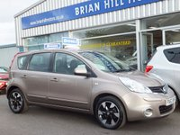 2013 NISSAN NOTE 1.5 DCi ACENTA PLUS 5d  (15000mls) £7495.00