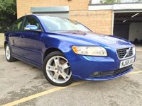 2008 VOLVO S40 1.8 SE 4d FULL LEATHER, ONLY 48,000 MILES £4695.00