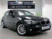 2013 BMW 1 SERIES 1.6 116D EFFICIENTDYNAMICS 5d 114 BHP £9980.00