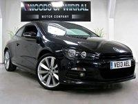 2013 VOLKSWAGEN SCIROCCO 2.0 R LINE TDI DSG BLUEMOTION TECHNOLOGY 2d AUTO 140 BHP £12980.00