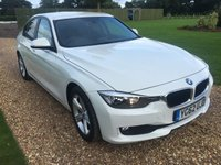 2012 BMW 3 SERIES 2.0 320D SE 4d 184 BHP £14000.00